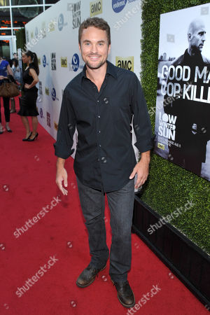 Stock Photo of Actor James Harvey Ward arrives to AMC's 'Low Winter Sun' premiere screening on in Los Angeles