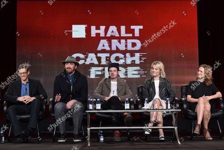 Editorial photo of AMC's Winter TCA Panel, Pasadena, USA - 10 Jan 2015
