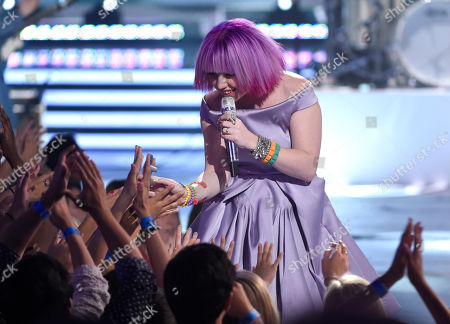 Stock Photo of Joey Cook performs at the American Idol XIV finale at the Dolby Theatre, in Los Angeles