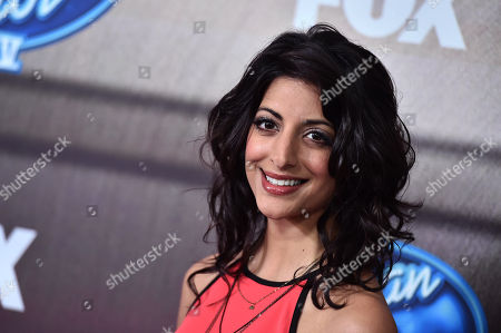 """Meera Rohit Kumbhani arrives at the """"American Idol XIV"""" finalists party at The District by Hannah An on Wednesday, Mar. 11th in Los Angeles"""