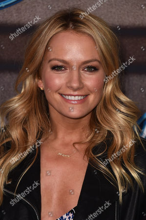 """Stock Image of Becky Newton arrives at the """"American Idol XIV"""" finalists party at The District by Hannah An on Wednesday, Mar. 11th in Los Angeles"""