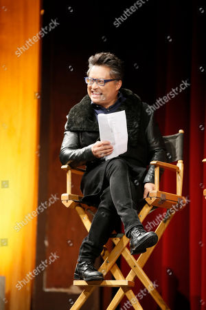 """Moderator Alec Mapa participates in a panel at """"An Evening with the Fosters"""" presented by the Television Academy at the El Portal Theatre on in the NoHo Arts District in Los Angeles"""