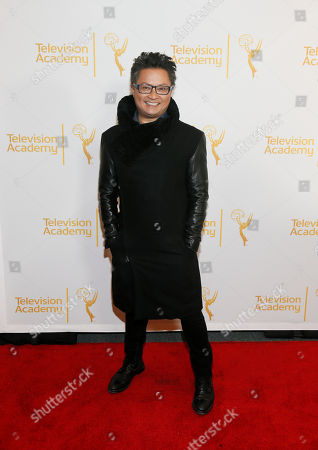 """Stock Picture of Moderator Alec Mapa poses at """"An Evening with the Fosters"""" presented by the Television Academy at the El Portal Theatre on in the NoHo Arts District in Los Angeles"""