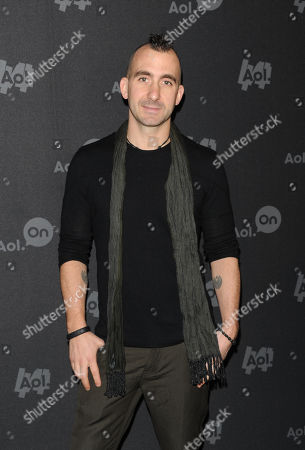 """Marc Forgione attends AOL's web series """"NewFront"""" at Moynihan Station on in New York"""