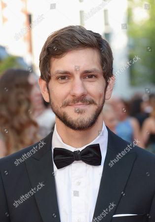 Matthew Baynton arrives at the Arquiva Bafta TV Awards at The Theatre Royal in London on