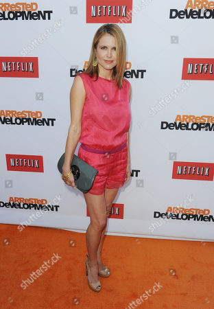"""Stock Picture of Laurie Fortier arrive at the season 4 premiere of """"Arrested Development"""" at the TCL Chinese Theatre on in Los Angeles"""