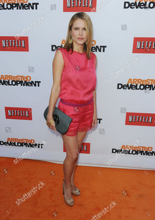 """Laurie Fortier arrive at the season 4 premiere of """"Arrested Development"""" at the TCL Chinese Theatre on in Los Angeles"""