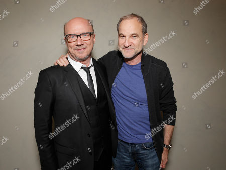Producer/Director Paul Haggis and Marshall Herskovitz attend the Artists for Peace & Justice Special Screening of Sony Pictures Classics and Paul Haggis' Third Person, in Los Angeles