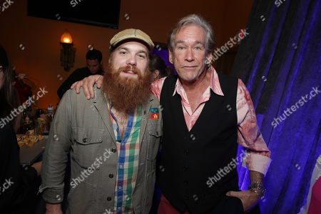 Marc Broussard and Bill Champlin seen at ASG Music Group Launch Party - A Joint Venture Between Alcon Entertainment and Sleeping Giant Media at The Village Recorder Studio, in Los Angeles, CA