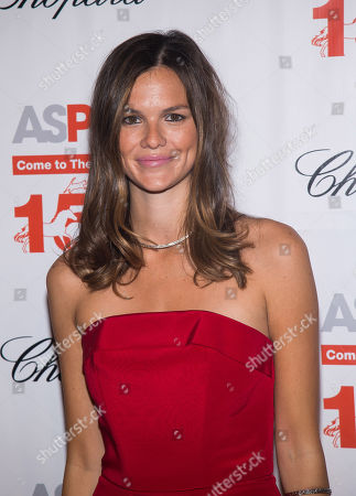 Allie Rizzo attends ASPCA's 19th annual Bergh Ball honoring Drew Barrymore at The Plaza Hotel, in New York