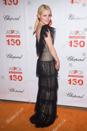 Alexandra Vidal attends ASPCA's 19th annual Bergh Ball honoring Drew Barrymore at The Plaza Hotel, in New York