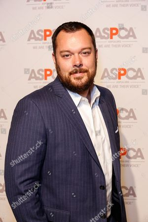 Michael Gladis arrives at the ASPCA Los Angeles Benefit at a private residence in Bel-Air, in Los Angeles