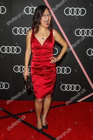 Helen Hong arrives to the Audi Golden Globes Cocktail Party held at Cecconi's Restaurant on in West Hollywood, California