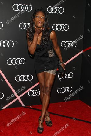 DeeDee Trotter arrives to the Audi Golden Globes Cocktail Party held at Cecconi's Restaurant on in West Hollywood, California