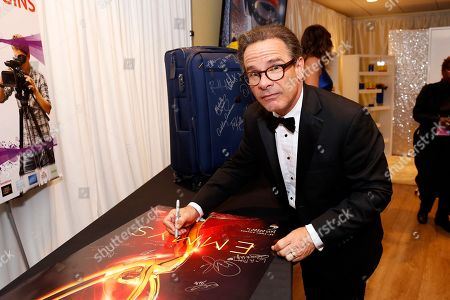 Actor Peter Scolari at the Backstage Creations Giving Suite benefitting the Television Academy Foundation Educational Programs at the 68th Emmy� Awards at the Microsoft Theatre L.A. Live, in Los Angeles