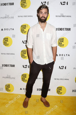 """Chris Tomson attends the BAMcinemaFest 2015 opening night premiere of """"The End Of The Tour"""" at the Howard Gilman Opera House, in New York"""