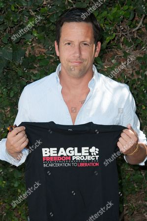 Actor Ross McCall attends the Beagle Freedom Project, in Los Angeles