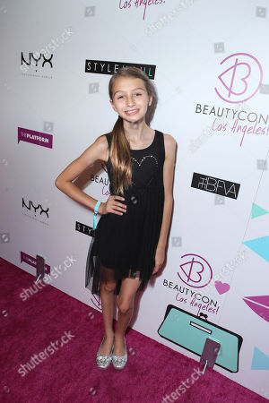 Sophia Strauss at Beautycon Los Angeles 2013 Day 2 held at Siren Studios on in Los Angeles