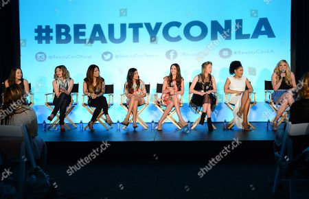 Editorial image of BeautyCon 2014 in Partnership with ELLE, Los Angeles, USA - 16 Aug 2014