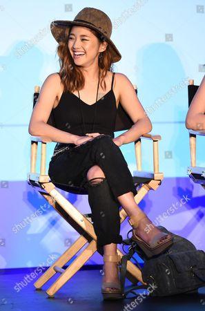 Jenn Im attends BeautyCon Los Angeles 2014 in Partnership with Elle at LA Mart, in Los Angeles