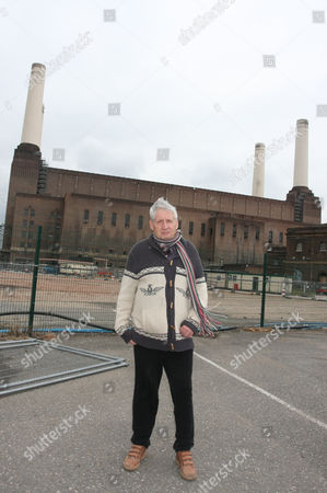 Storm Thorgerson at Battersea Power Station