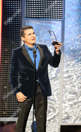 Horacio Palencia Cisneros winner at the 2012 Billboard Mexican Music Awards at the Shrine Auditorium, in Los Angeles