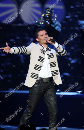 Horacio Palencia, performs at the 2012 Billboard Mexican Music Awards at the Shrine Auditorium, in Los Angeles