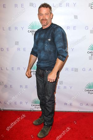 """Max Martini attends the Brian Bowen Smith's """"Metallic Life"""" Exhibition Debut at the De Re Gallery on in Los Angeles"""