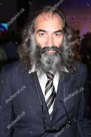 Warren Ellis arrives for the UK Gala Screening of '20,000 Days On Earth', a film by Nick Cave, at the Barbican Centre in central London