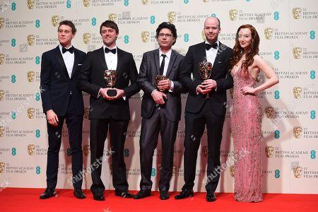 Editorial image of Britain BAFTA 2015 Winners Room, London, United Kingdom - 8 Feb 2015