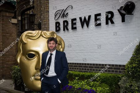 Stock Photo of Harry Peacock poses for photographers upon arrival at the British Academy Television Craft Awards in London