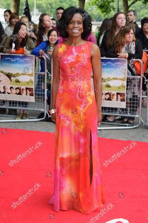 Editorial photo of Britain Belle Premiere, London, United Kingdom - 5 Jun 2014