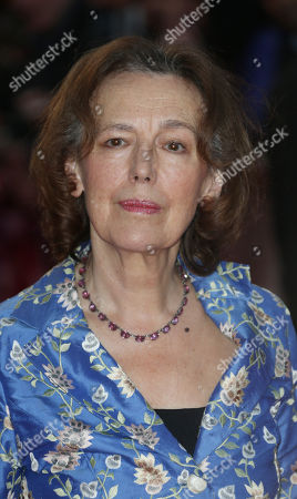 Author Claire Tomalin arrives on the red carpet for the European Premiere of the film The Invisible Woman, as part of the 57th BFI London Film Festival, at a central London hotel