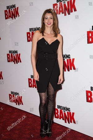 Stock Picture of Actress Julie Dray poses for photographers upon arrival at the premiere of the film 'Breaking the Bank' in London