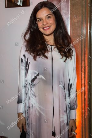 Actress Zuleikha Robinson attends the 'Brilliant is Beautiful' fund raiser dinner organized by the NGO Artists for Peace and Justice, in London