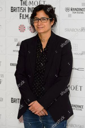 Tinge Krishnan arrives for the British Independent Film Awards Nominations at a central London venue, London