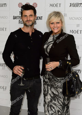 Raffaello Degruttola and Camille Coduri arrive for the British Independent Film Awards Nominations at a central London venue, London