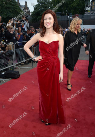 Hayley Westenra arrives at the Classic BRIT Awards 2013 at the Royal Albert Hall,, in London