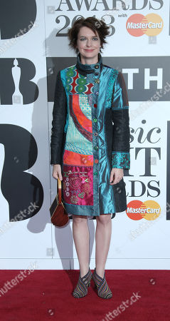 Editorial picture of Britain Classic BRIT Awards 2013 - Outside Arrivals, London, United Kingdom - 2 Oct 2013