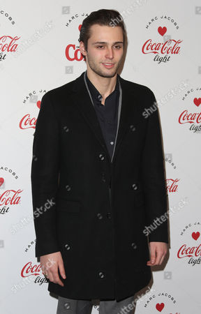 Claude Simonon arrives for the Launch party of a partnership between Diet Coke and fashion designer Marc Jacobs at a north London venue