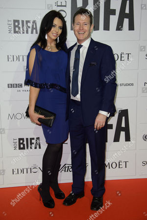 Stock Image of Jasmin Duran and Nick Moran pose for photographers upon arrival at the British Independent Film Awards 2015 in London