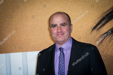 Don Granger poses for photographers upon arrival at the premiere of the film 'Jack Reacher: Never Go Back' in London