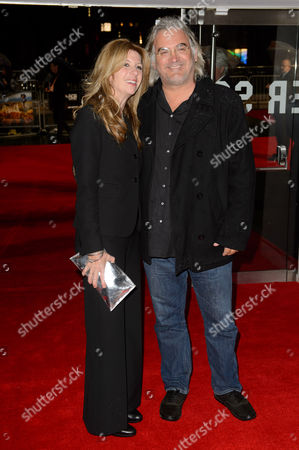 Joanna Greengrass, Paul Greengrass arrives for the premiere of Wild at a central London cinema, during the BFI London Film Festival, London