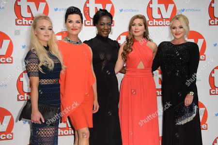 Editorial photo of Britain TV Choice Awards, London, United Kingdom - 7 Sep 2015