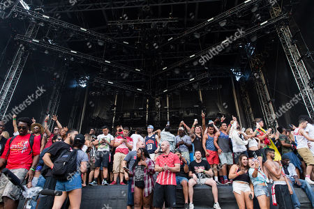 Stock Photo of Jay Electronica performs at The Budweiser Made In America Festival, in Philadelphia
