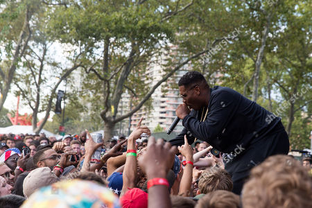 Stock Image of Jay Electronica performs at The Budweiser Made In America Festival, in Philadelphia