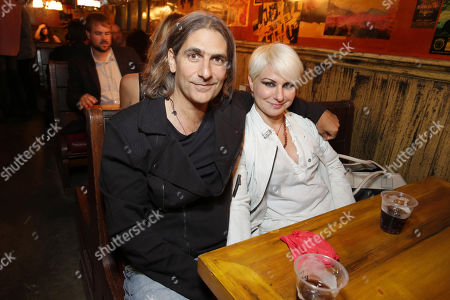 EXCLUSIVE CONTENT - PREMIUM RATES APPLY Michael Imperioli and Victoria Imperioli seen at the Californication Season 7 Wrap Party, on Saturday, July, 27, 2013 in Los Angeles