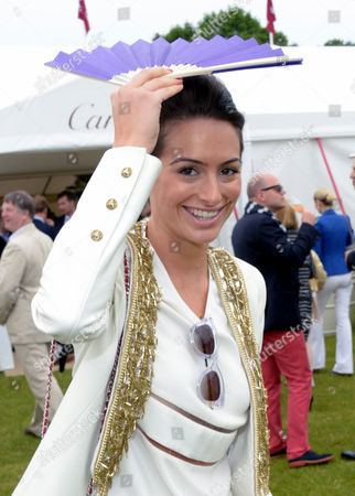 Saskia Boxford attends Cartier Queen's Cup held at Guards Polo Club in Windsor, on Sunday June 16th, 2013