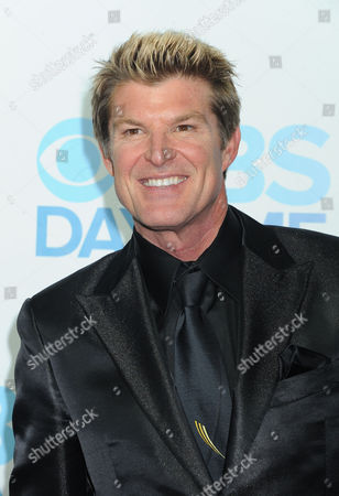 Stock Photo of Winsor Harmon arrives at The CBS Daytime Emmy Awards Afterparty at the Aqua Star Pool, Beverly Hilton,, in Beverly Hills, CA