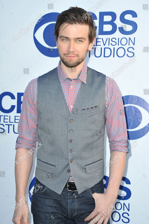 Stock Picture of Torrance Coombs arrives at CBS Television Studios Summer Soiree at The London Hotel on in Los Angeles